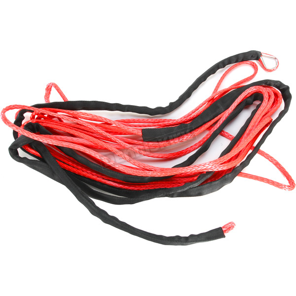 Moose Red 1/4 in. x 50 ft. Synthetic Winch Rope - 4505-0573