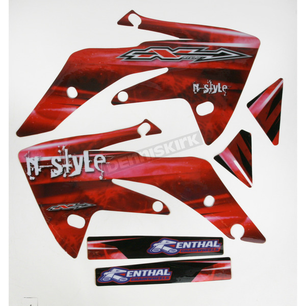 N-Style Ultra Tank/Shroud Graphics Only - N40-1317