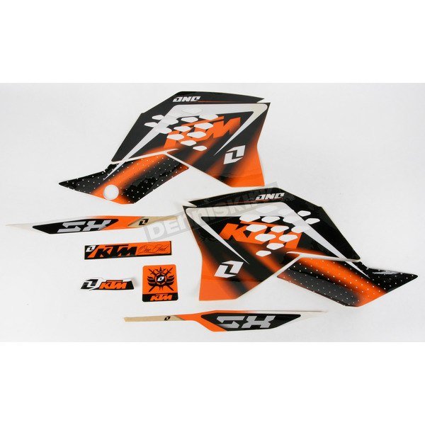 One Industries Delta Graphics/Seat Cover Kit - GSKT462