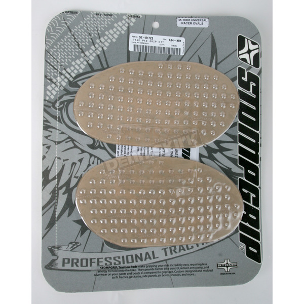 Stompgrip Universal Clear Oval Traction Pads - 55-10003
