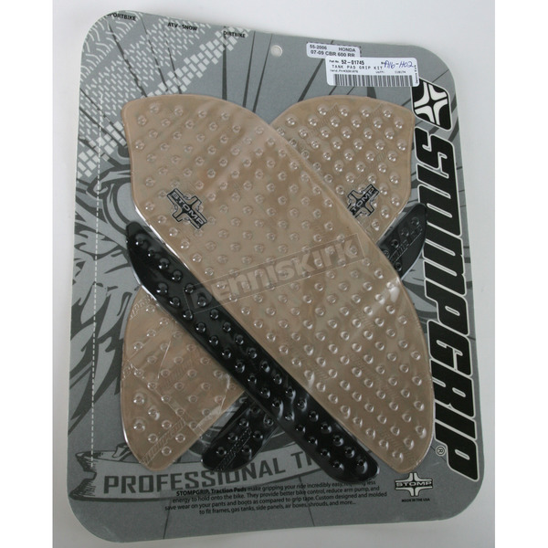 Stompgrip Clear Traction Pad Tank Kit - 552006