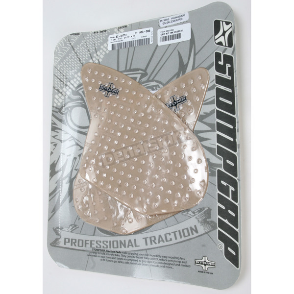 Stompgrip Clear Traction Pad Tank Kit - 55-3003