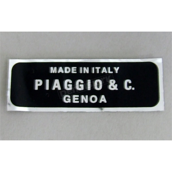 Scooter Works Made in Italy Decal - 85547B