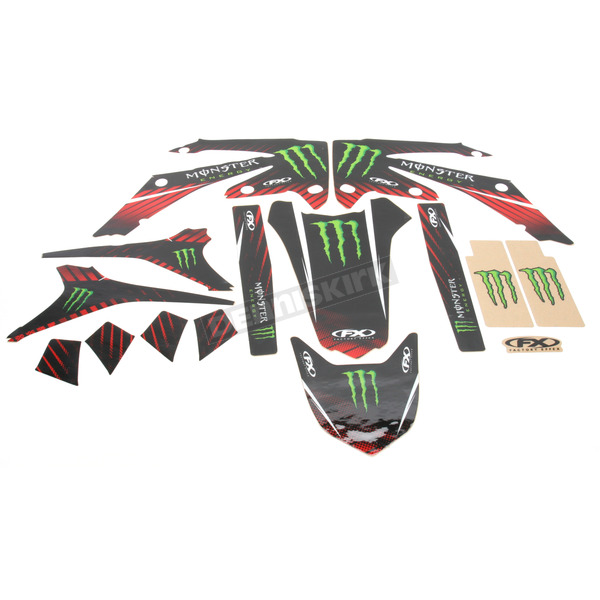 Factory Effex Monster Energy Graphic Kit - 1502336