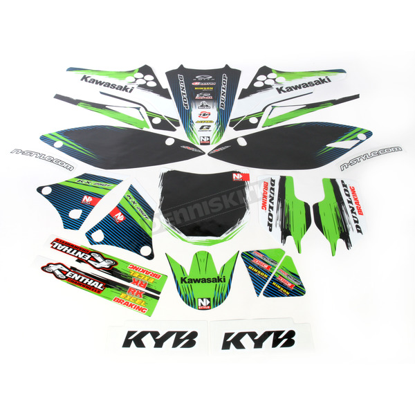 N-Style Accelerator Graphic Kit w/Seat Cover - N403660