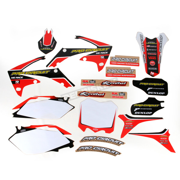 Pro Circuit Complete Graphic Kit w/Seat Cover - DH12450