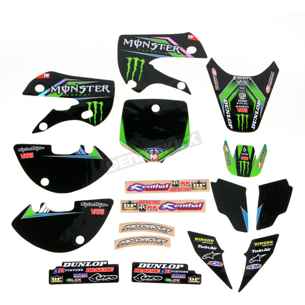 Pro Circuit Complete Graphic Kit w/Seat Cover - DK1265T