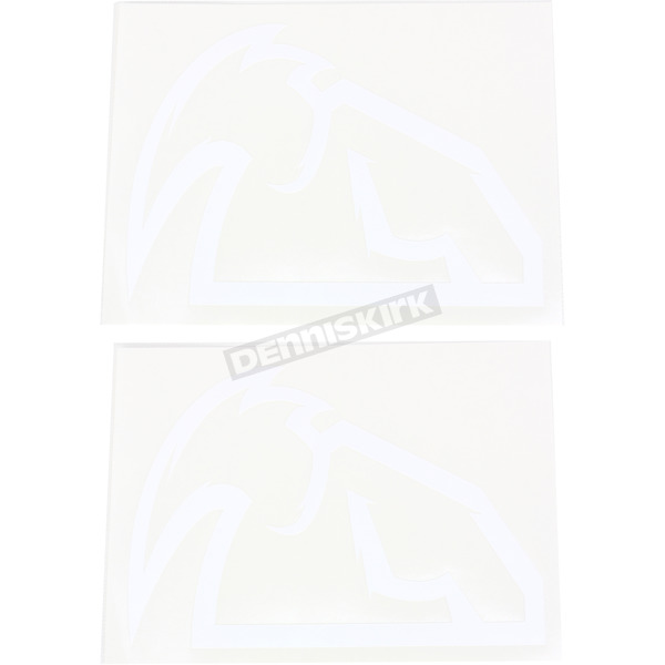 Thor White Outline Mask Diecut Decals - 4320-1520