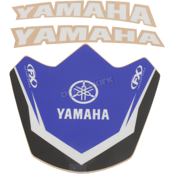 Factory Effex Yamaha Front Fender Kit  - 17-30220