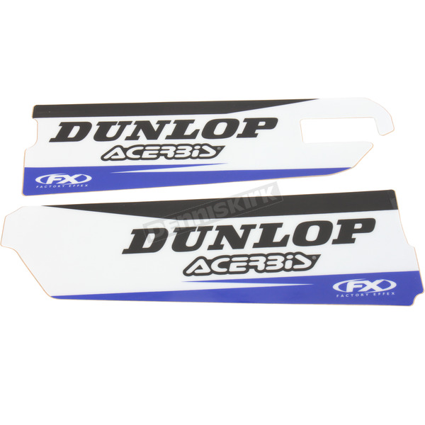 Factory Effex Yamaha Sponsor Logo Lower Fork Guard Graphics - 17-40262