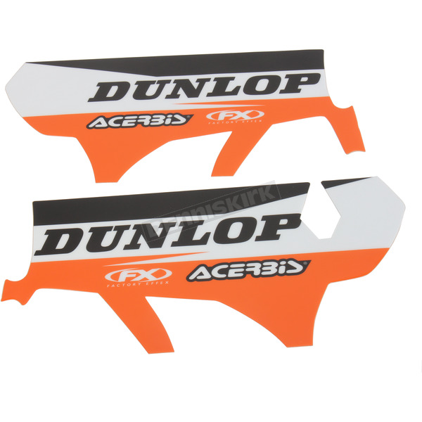 Factory Effex KTM Sponsor Logo Lower Fork Guard Graphics - 17-40570