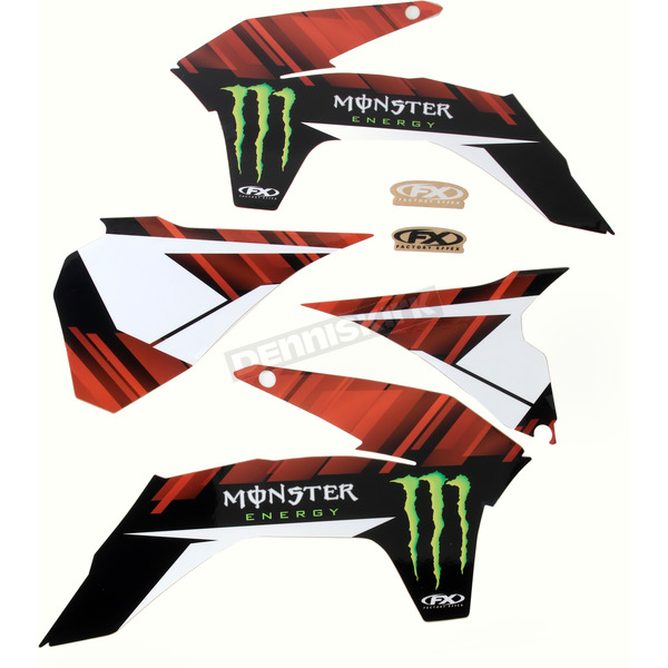 Factory Effex Monster Energy Graphics Kit - 18-12528