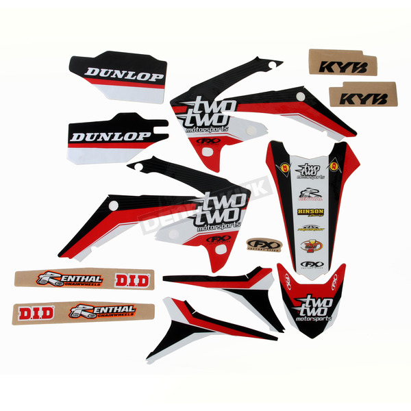 Factory Effex Team Two Two Graphics Kit - 18-02364