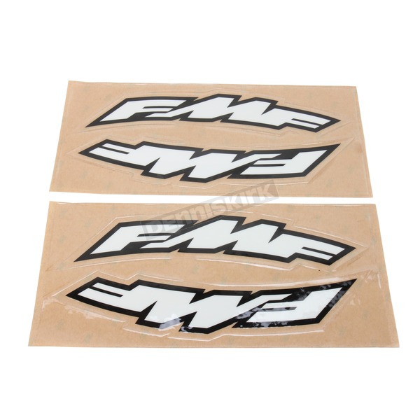 FMF Large FMF Logo Side Arch Decals - 015231