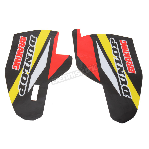 N-Style Yellow/Black/White/Red Lower Fork Protectors - N10-151