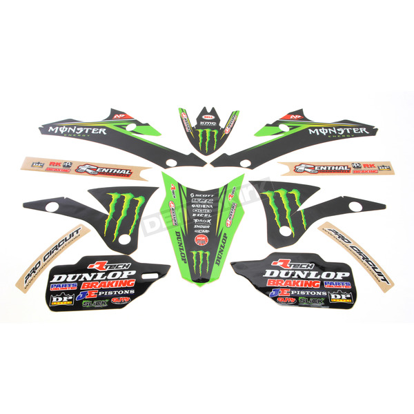 N-Style 2015 Pro Circuit Race Team Graphics Kit - N40-3744