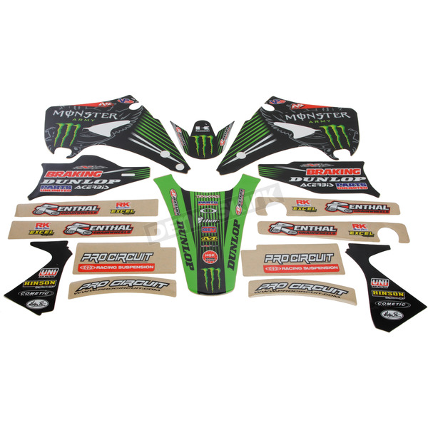 N-Style 2015 Team Green Race Team Graphics Kit - N40-3753