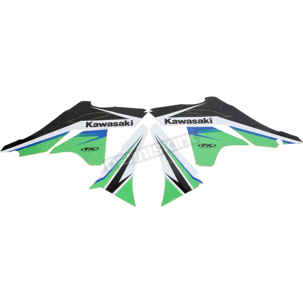 Factory Effex Kawasaki FX EVO 13 Series Graphics Kit - 19-01130