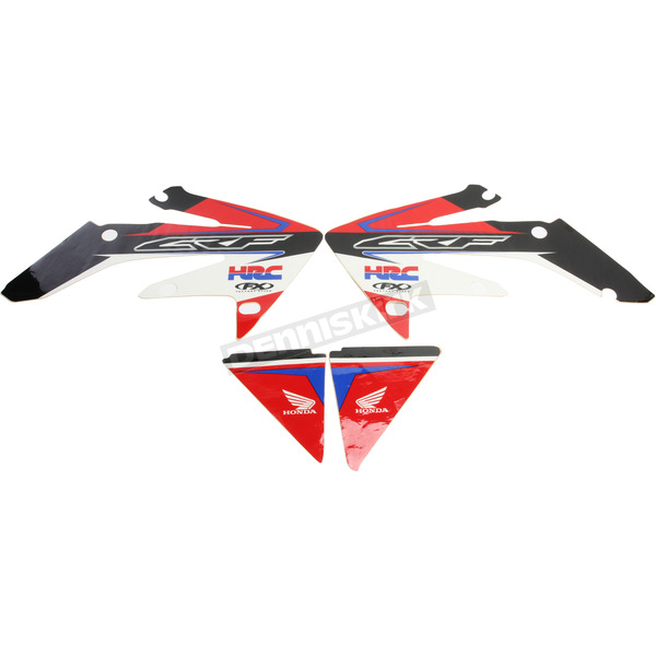 Factory Effex Honda FX EVO 13 Series Graphics Kit - 19-01326