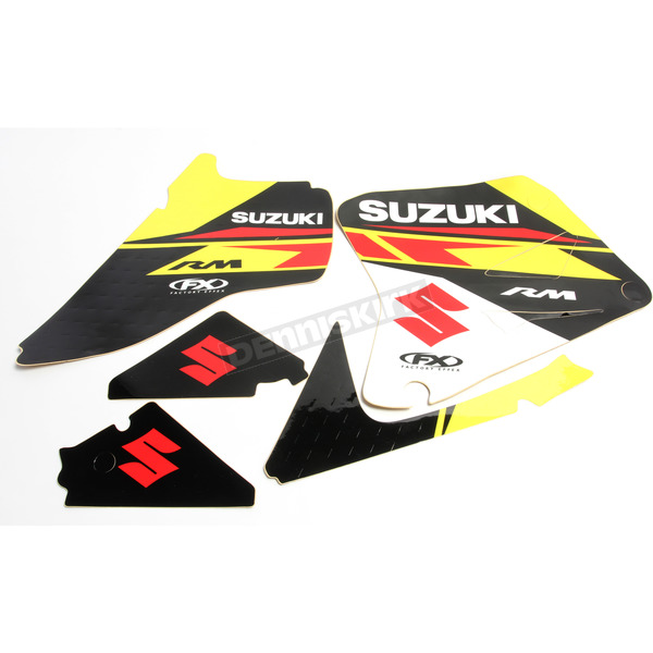 Factory Effex Suzuki FX EVO 13 Series Graphics Kit - 19-01410
