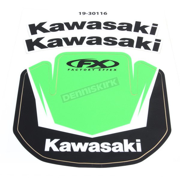 Factory Effex Kawasaki Front Fender Graphic Kit - 19-30116