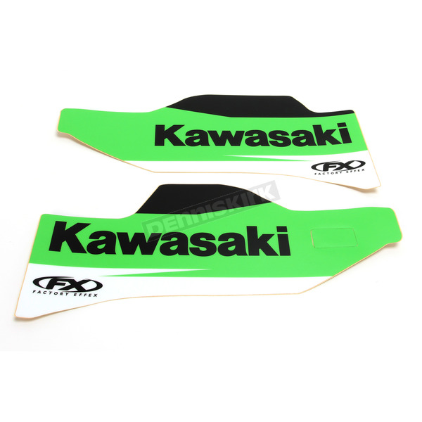Factory Effex Kawasaki Lower Fork Guard Graphic - 19-40120