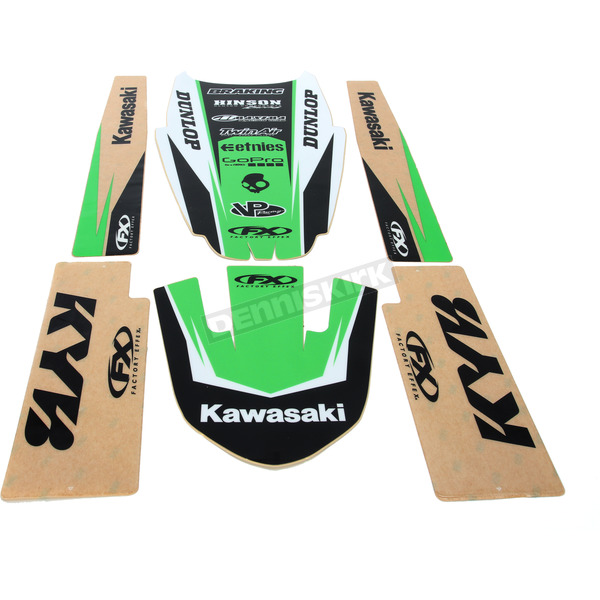 Factory Effex Kawasaki Graphic Trim Kit - 19-50126