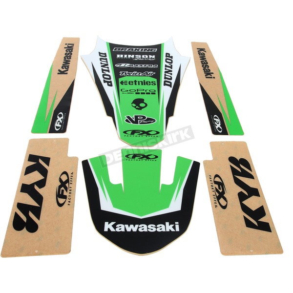 Factory Effex Kawasaki Graphic Trim Kit - 19-50130
