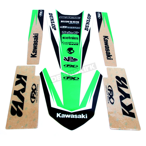 Factory Effex Kawasaki Graphic Trim Kit - 19-50132