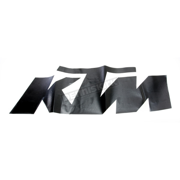 Factory Effex Black KTM 3' Die Cut Sticker - 19-94556