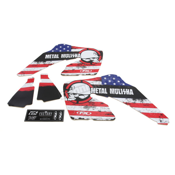 Factory Effex Metal Mulisha Standard Shroud Graphics Kit - 20-11318
