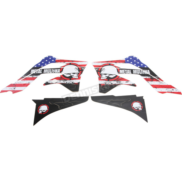 Factory Effex Metal Mulisha Standard Shroud Graphics Kit - 20-11132