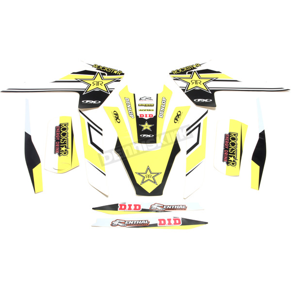 Factory Effex Rockstar Standard Complete Graphics Kit - 20-07630