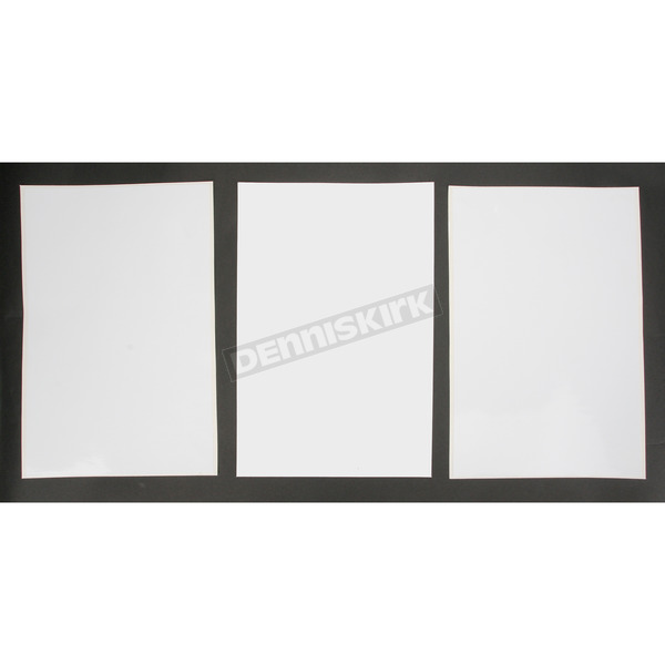 Factory Effex Universal Plate Background-White - FX02-6601