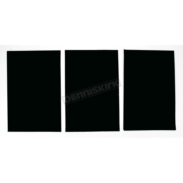 Factory Effex Universal Plate Background-Black - FX02-6602