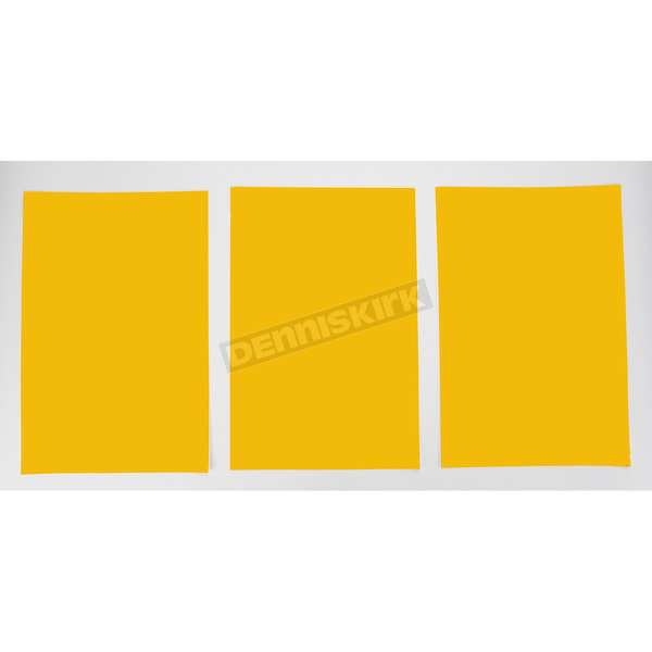 Factory Effex Universal Plate Background-Yellow - FX02-6603