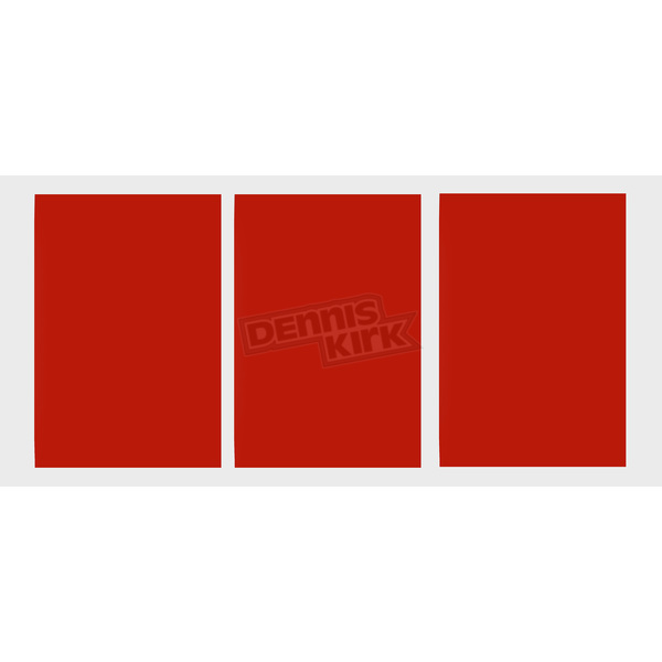 Factory Effex Universal Plate Background-Red - FX03-0243