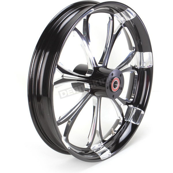 Performance Machine Front Platinum Cut 21 x 3.5 Paramount One-Piece Chrome-Forged Aluminum Wheel - 12047106PARJBMP