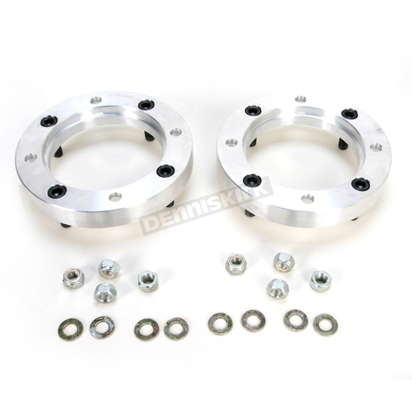 Moose 1 in. Aluminum Wheel Spacers w/12mm Studs - 0222-0413
