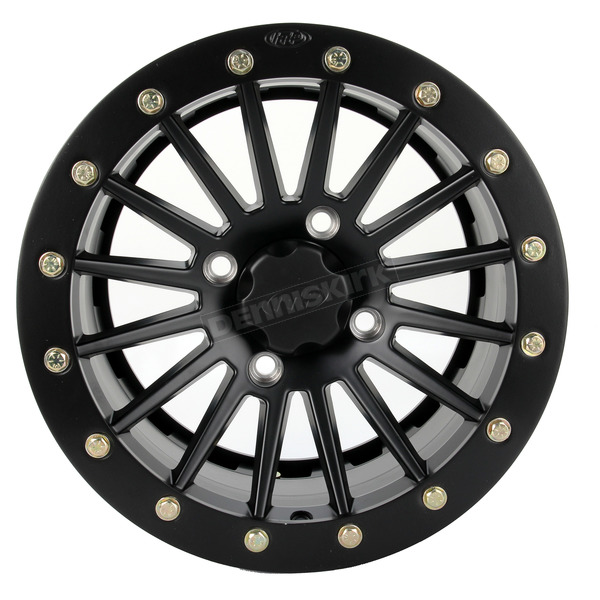 ITP Black Ops 14 in X 7 in. SD Series Alloy Dual Beadlock Wheel - 14SDB19BX