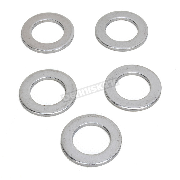 Drag Specialties Chrome Rear Axle Washers - 0214-0888