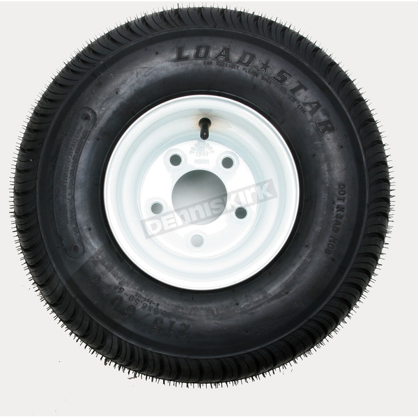 Kenda K399 4-Ply 18.5 x 8.50-8 Tire W/5-Hole Solid Wheel Assembly - 3H270