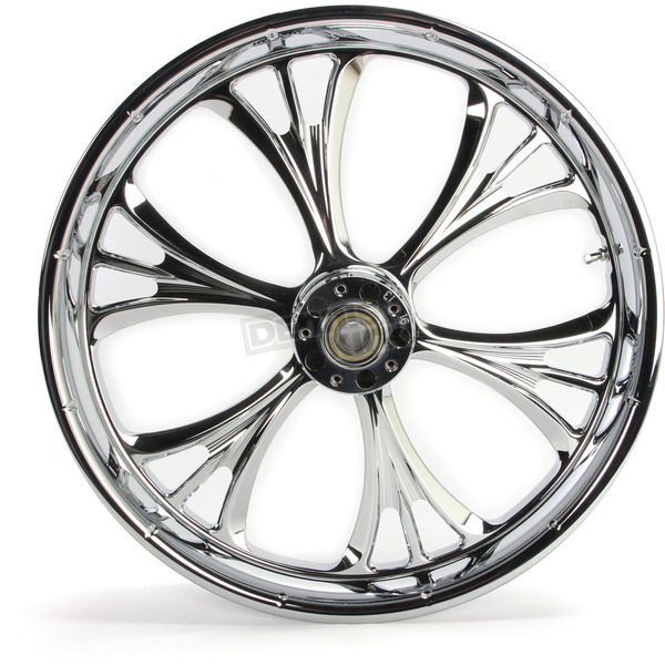 Chrome 21 x 3.5 Dual Disc Majestic Front Wheel (w/ABS) - 21359031A14102C