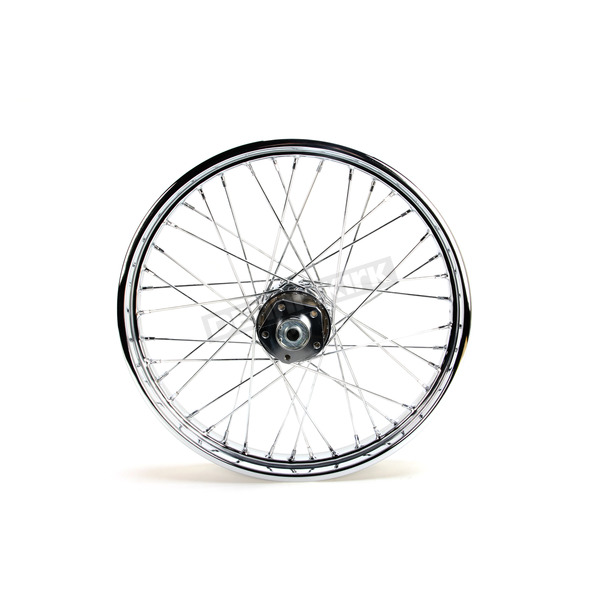 V-Factor Chrome 21x2.15 40 Spoke Front Wheel - 51637