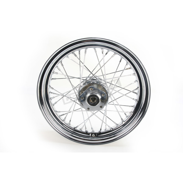 V-Factor Chrome 16x3.00 40 Spoke Rear Wheel - 51645