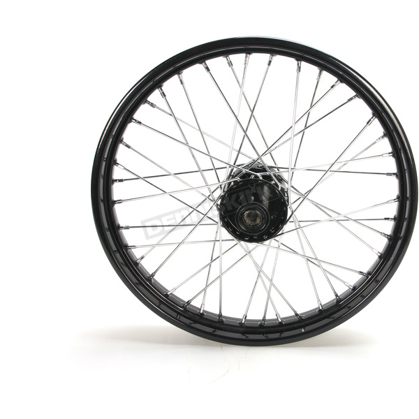 Black 21x2.15 40 Spoke Front Wheel - 51675