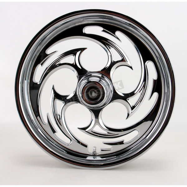 RC Components Chrome 18 x 3.5 Savage One-Piece Wheel - 18350-9916-85C