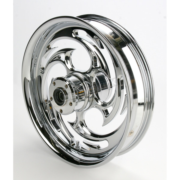 RC Components Chrome 16 x 3.5 Savage One-Piece Wheel - 16350-9950-85C
