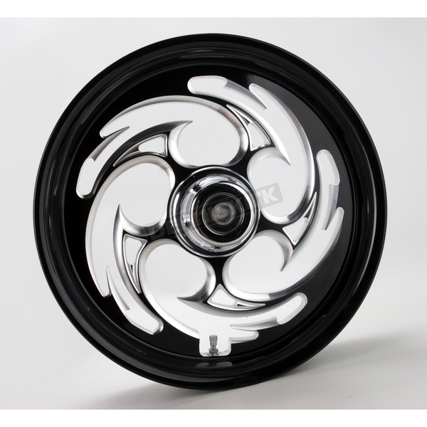RC Components Black 16 x 3.5 Savage Eclipse One-Piece Wheel  - 16350-9916-85E