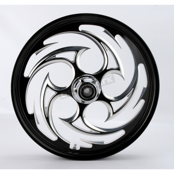 RC Components Black 21 x 2.15 Savage Eclipse One-Piece Wheel  - 21215-9927-85E